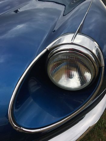 Jaguar E type Car Lights Jaguar E-Type V12 Engine Vintage Cars Classic Car Car Reflection Transportation Mode Of Transportation Land Vehicle Close-up Day Car Glass - Material