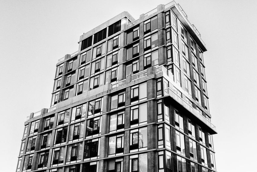 Modern Architecture along the High Line Park in New York City. Architecture Cityscape High Line Park Modern Modern Architecture New York City Abstract Appartment Architectural Detail Black And White Blackandwhite Building Building Exterior Highrise Luxury Tower