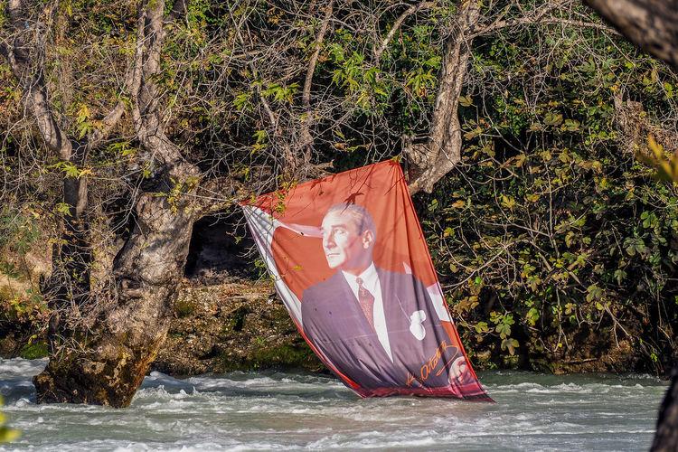 Atatürk Turkey Day Growth Nature No People Outdoors Selale Tree Water Waterfall şelalesi