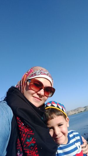 Aswan ♥♥ My Son :) NileRiver Holiday And Relaxing My Family ❤