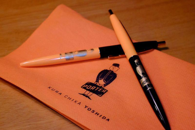 ポーター80周年記念ボールペン ball point pen Fujifilm X-E2 Fujifilm_xseries Fujifilm Fujixe2 Xf35 Xf35mm 吉田カバン ボールペン Pen Porter