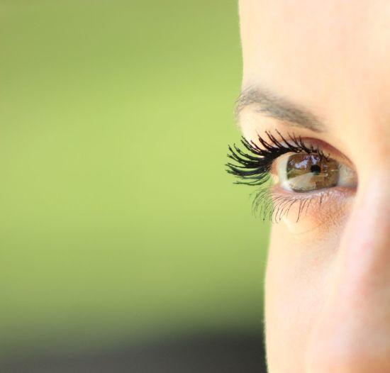 Cropped Image Of Woman Eye