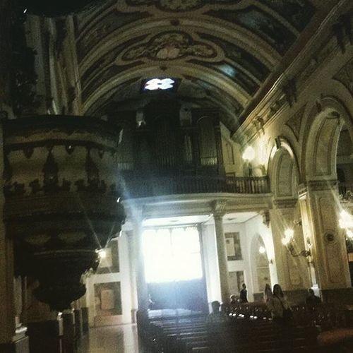Iglesia de los Agustinos recorriendo Santiagoapie