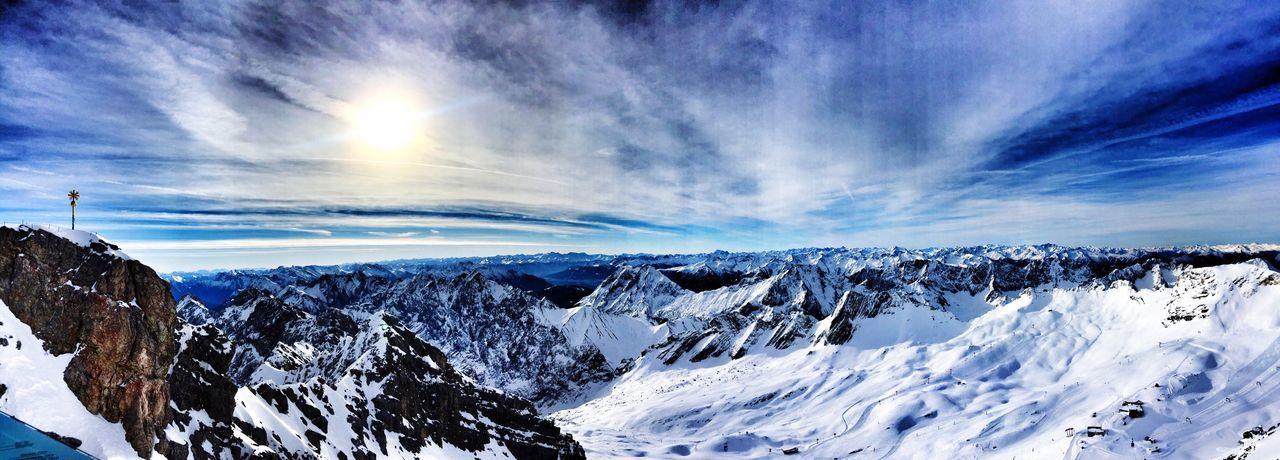 Zugspitze Winter Snow Scenics Finding New Frontiers