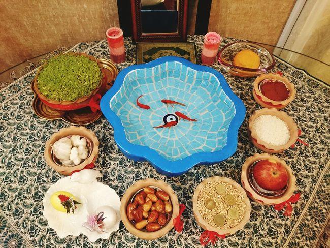 هفت سین در خانه. نوروز مبارک