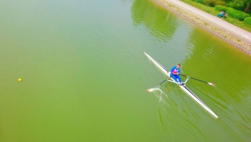 Rowing Rowingboat Canoo Canal Sport People Water Eye4photography  Water_collection Sports