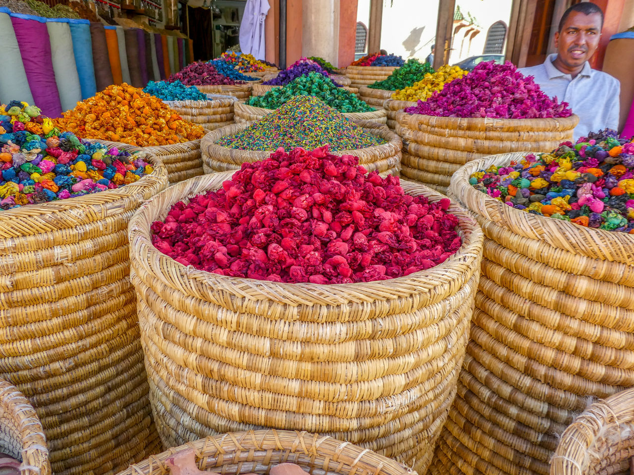 basket, variation, market, multi colored, retail, day, large group of objects, food, food and drink, choice, outdoors, freshness, no people