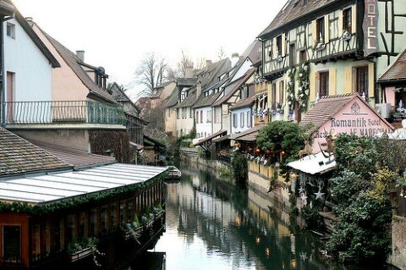 Colmar La Petite Venice Alsace Alsacia