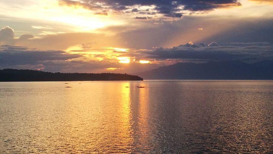 Acantilado sunset