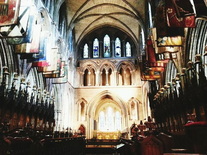 Ireland Taking Photos Traveling Enjoying Life st.Patricks Cathedral in Ireland