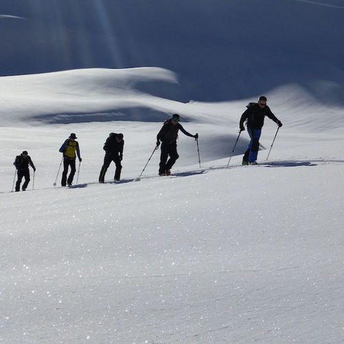 Snow Winter Cold Temperature Adventure Outdoors People Skitouring Skimountaineering Skitour Skitour Alps Austria