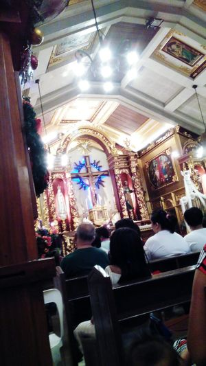 Simbang Gabi. Christmas Around The World Sunday Mass My Best Photo 2015 Newyearsresolution2015 Eyeem Philippines Philippines