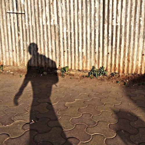 The Shadow walk. Streetphotograpy Life Mumbai Iphoneasia