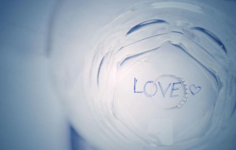 #art #conceptual #glassart #love #ring #sad  #water Close-up