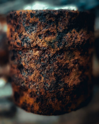 Close-up of rusty metal