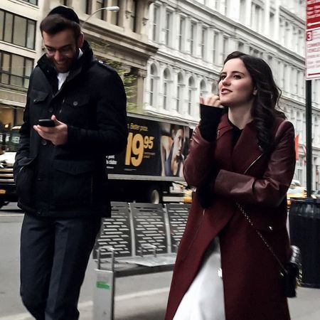 I guess I'm just quite observant and I pay attention to a lot of things. Human behavior really fascinates me -Ellie Goulding | People Streetphotography Spring2015 Manhattan NYC Paying Attention Timyoungiphoneography