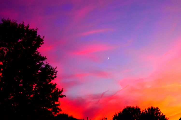 """Used the """"vibrant"""" effect on my Nikon NikonD5500 Sunset Sunset_collection Nikonphotography Sky Sky_collection Clouds EyeEm Nature Lover EyeEm Best Shots"""