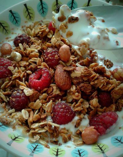 Breakfast Yogurt&granola Berries