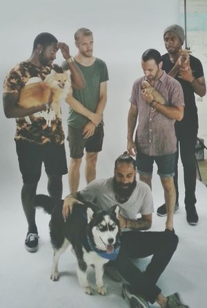 Behind the scene back stage at the Vans Warped Tour an exclusive photoshoot with Epitaph records biggest band: LET LIVE. Vanswarpedtour Warped Tour  Letlive