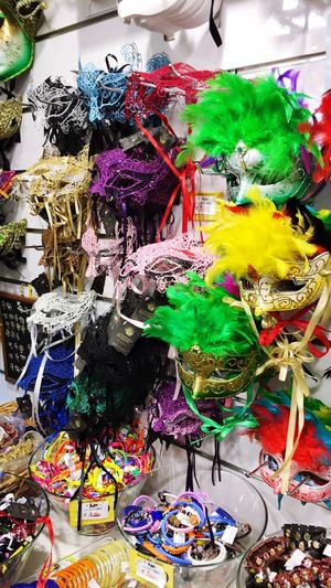 Mask Carnival Venice Italy Colors Pastel Power