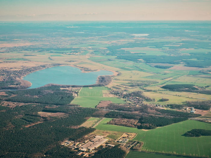 View From Above View From An Airplane Brandenburg Aerial View Through A Window Nature Natute_collection Earth From Above High Angle View Lake Curvature Civilizations Countryside Rural Germany EyeEm Best Shots EyeEm Nature Lover Eye4photography