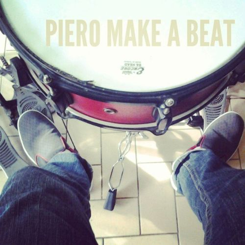 Piero in action, kick the drum pedal..!! Let's rock...!! Piero