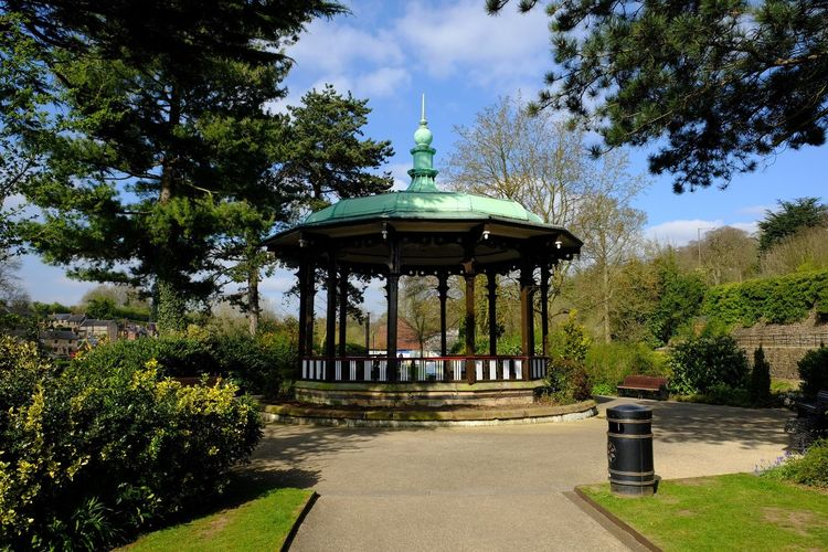 Band stand Outdoors Architecture Built Structure Tree Sky Building Exterior