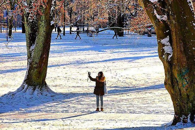 📷 Selfie picture and portrait👍😊 Selfie Someone Portrait Likeit Photographer Nature Natureselfie Natureshots Tagsforlikes Likes Photo Naturephotography Trees Park Beautifulday Sun Sunlight But Coldweather Snow @awesome_pixels @exaperture @gothenburg_sweden