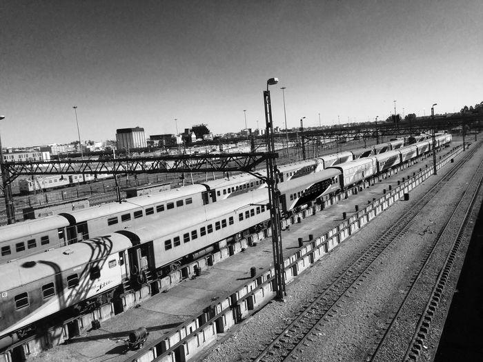 Public Transportation Commuting Train Train Station Blackandwhite Black And White Blackandwhite Photography