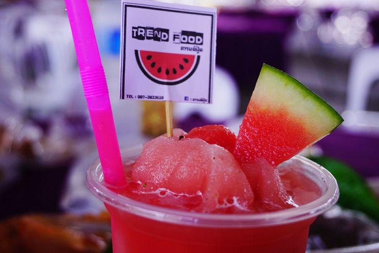 แตงโมปั่น สดชื่นนนน อร่อย Water Melon