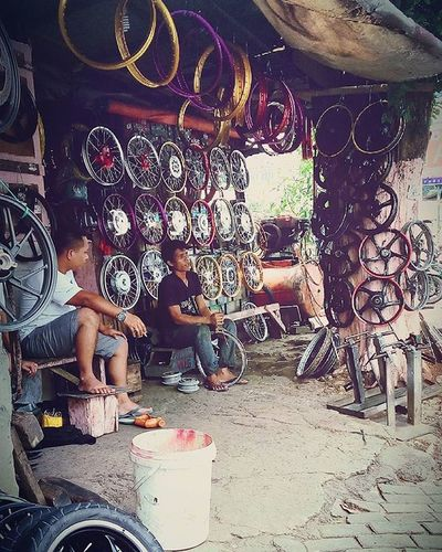 Wheels of Fortune | Streetvendor Showcase March Motorbikepart Observing People From My Point Of View My City, My Life