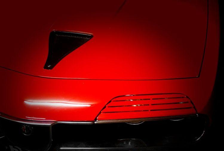 mythic car Red