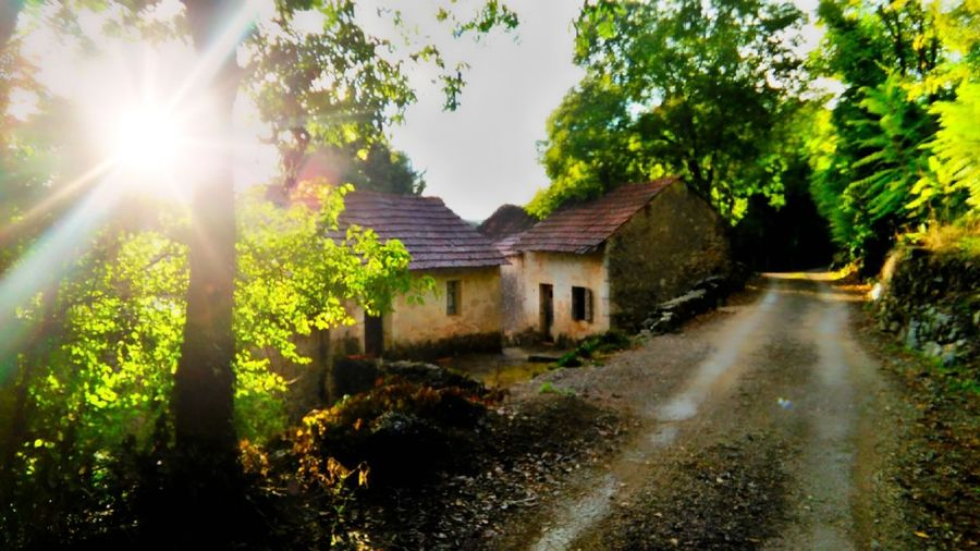 Herzegovina Nature Flowers, Nature And Beauty No People Outdoor Photography Colors Panorama Sunset Sky Wildlife Panoramic Photography Wildlife & Nature Old Buildings Old House Old