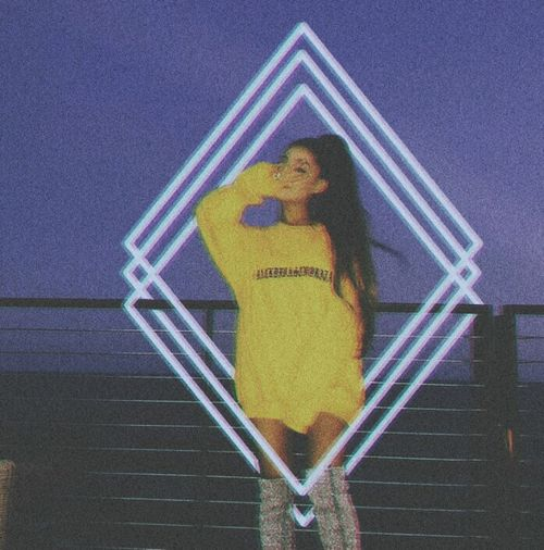 Ari 🌌 Arianagrande Onelasttime Only Women One Woman Only One Person One Young Woman Only Full Length Young Adult Adults Only Front View Yellow People Adult Outdoors Standing Young Women Night Portrait Politics And Government