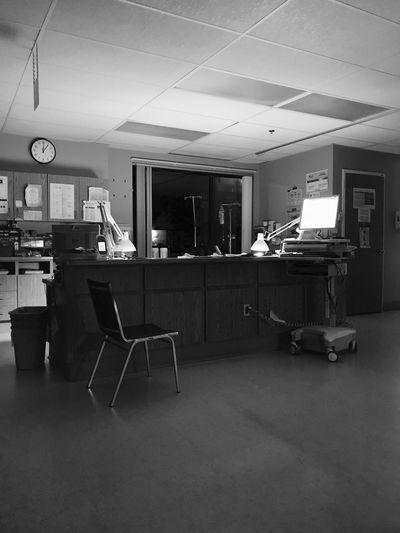 cardiac Night Shift #hospital Table Indoors  Chair Seat Lighting Equipment No People Illuminated