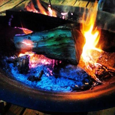 And were gonna let it burn burn burn Bonfire BBQ Rommielove Familynight