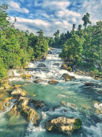 """Aliwagwag Falls"" Wowphilippines Beauty In Nature Nature"