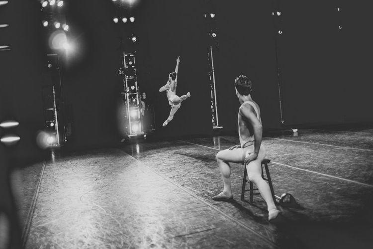 Apollo and Polyhemnia New York City Ballet Artist Ballerina Capturing Movement BW Collection Black & White Monochrome Ballet