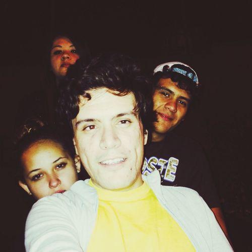 Avec mua, j'dore my friends :3 Nightphotography
