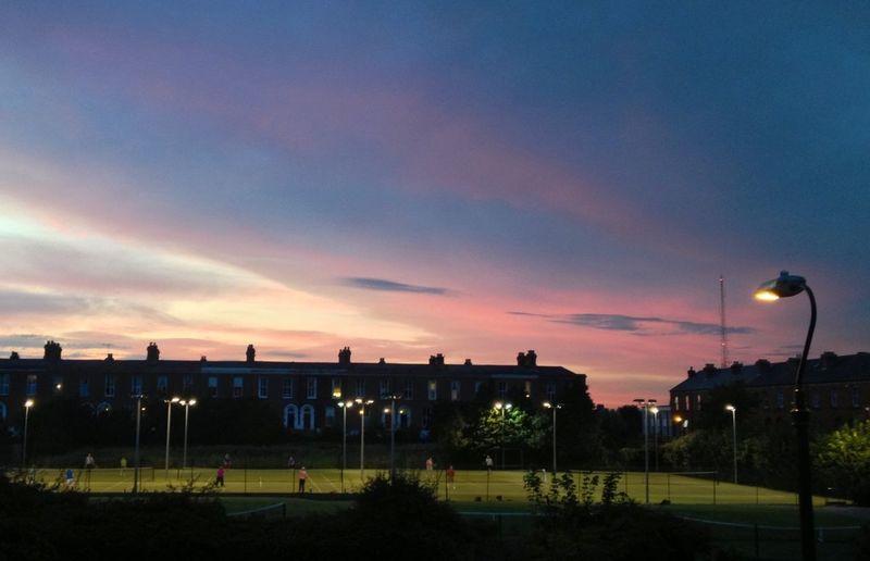 Fantastic Evening Sky Sunset