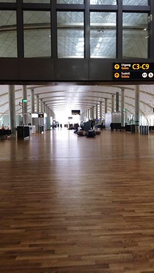 Airport Gardermoen Gate Flying Home Indoors  Architecture