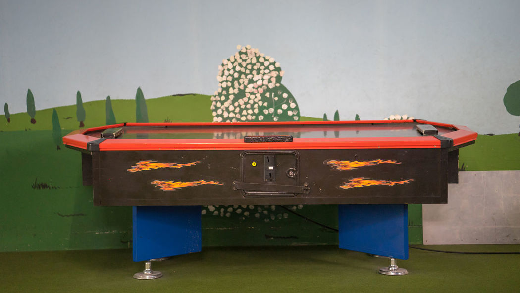 Air Hockey Arts Culture And Entertainment Blue Childhood Container Day Food Food And Drink Hockey Hockey Game Indoors  Leisure Activity Music Nature No People Paper Plant Still Life Table Tree Wall - Building Feature Water Wood - Material