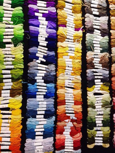 Rainbow Rainbow Colors Colors Reel Embroidery Thread Mercerie Couture Endlessness