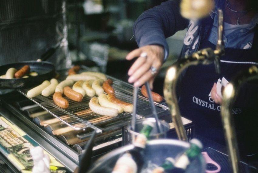 Film 35mm Film Analogue Photography EyeEm Best Shots Kamakura Sausage Cooking