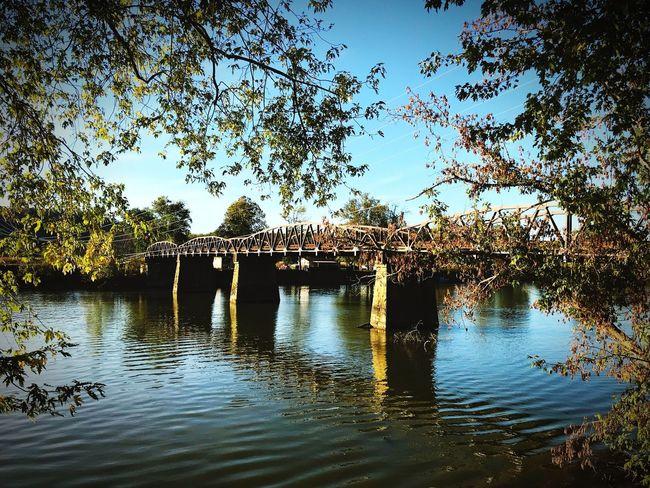 River Bridge Fall Beauty