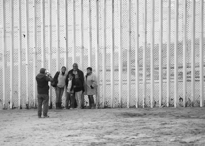 Border Borderline Day Frontier Men Outdoors People Photography Real People Wall