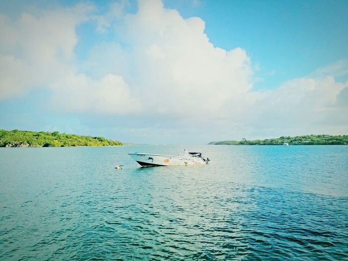 Invitation to Adventure Outdoors EyeEm Nature Lover Sea And Sky Sea View Color Photography Photooftheday EyeEm Best Shots - Nature Boat Trip Landscapes With WhiteWall The KIOMI Collection Blue Wave