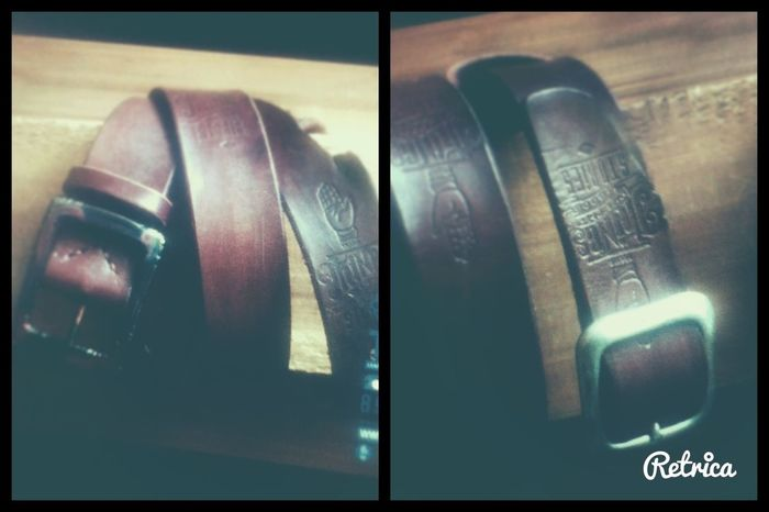 Leather Belt Leather Craft Tramp