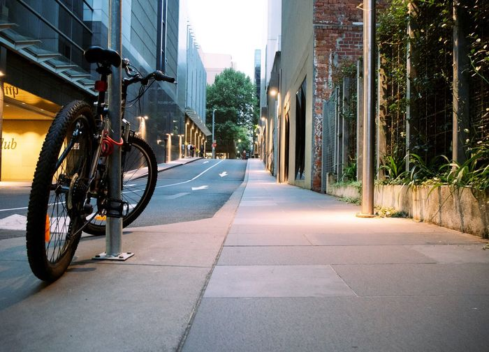 Transportation City Architecture Building Exterior The Way Forward Built Structure Street Direction Bicycle Mode Of Transportation Day Road Footpath Residential District No People