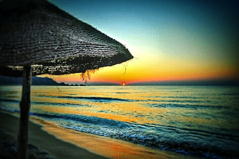 Haouaria الهوارية سماء بحر فجر اليوم